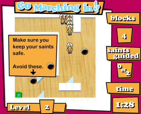 Game: Go Marching in