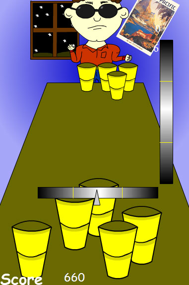 Game: Beer Pong