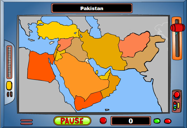 Game: Geography Game: Middle East