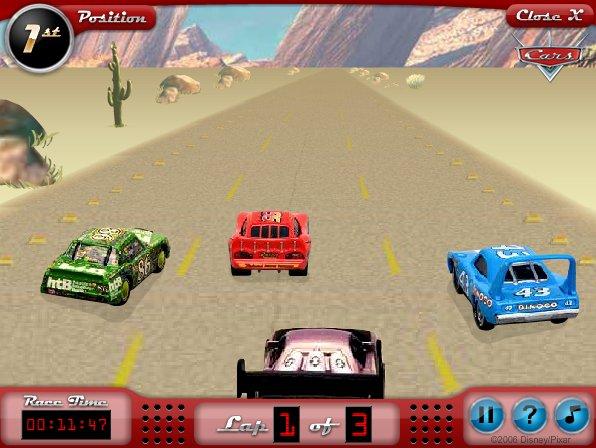 Game Cars Lightning McQueenu0027s Desert Dash & games.cau.lv - uzsp?l? sp?les azcodes.com