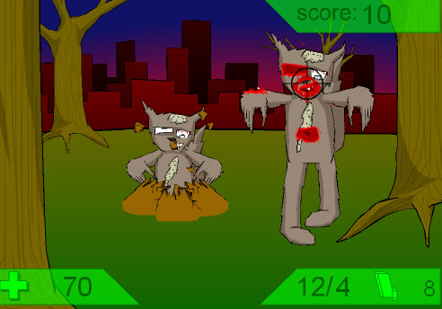 Game: Zombie Squirrel Attack