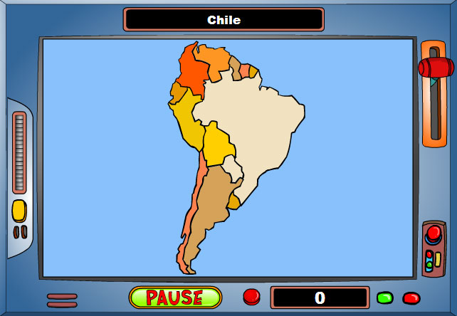 Game: Geography Game: South America